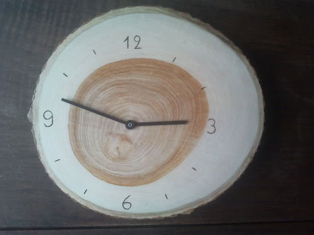 DIY wood Rusch clock hack (via ikeahackers)