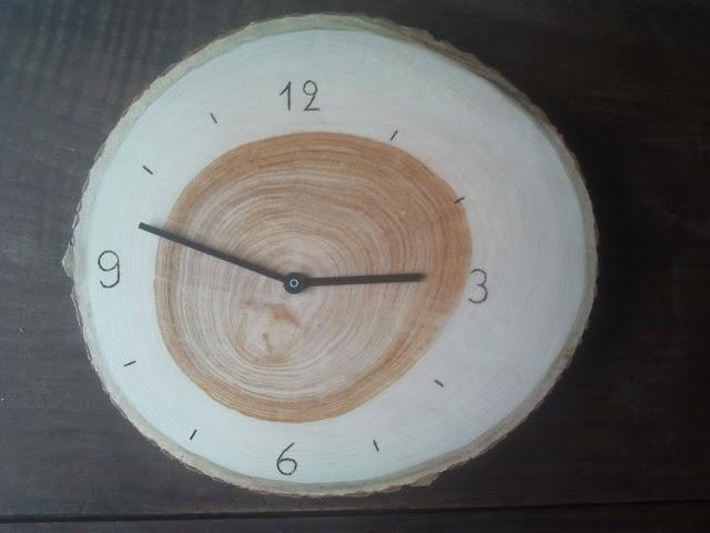 DIY wood Rusch clock hack
