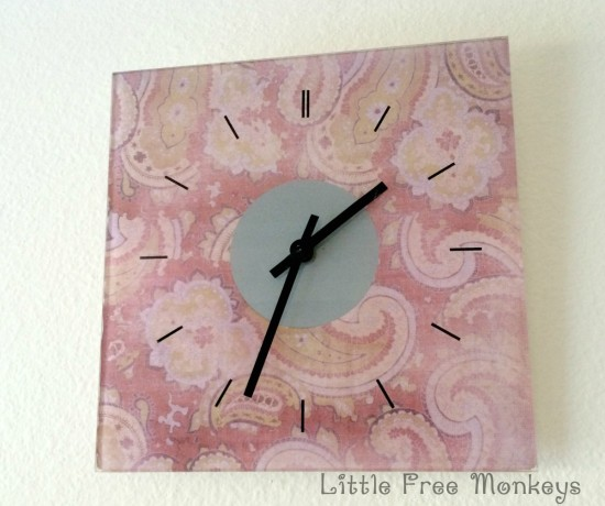 DIY IKEA Skoj clock hack (via ikeahackers)