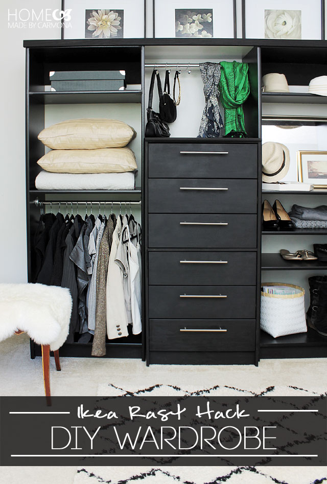 DIY large wardrobe hack (via homemadebycarmona)
