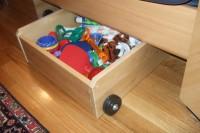 DIY sofa toy storage