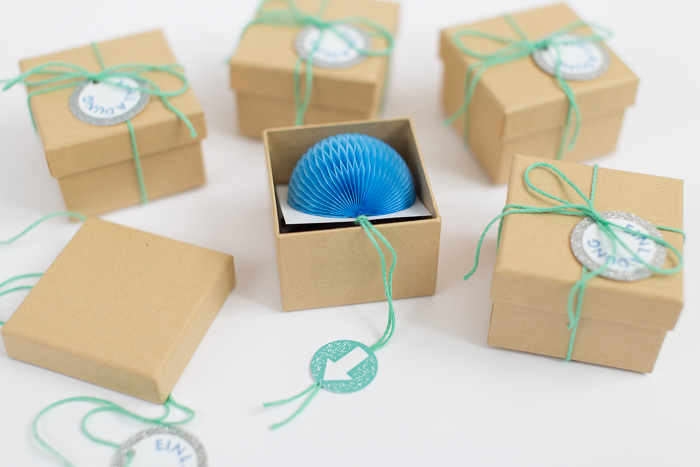 Creative DIY Birthday Invitations In A Box