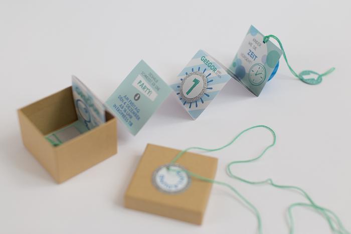 Creative DIY Birthday Invitations In A Box - Shelterness