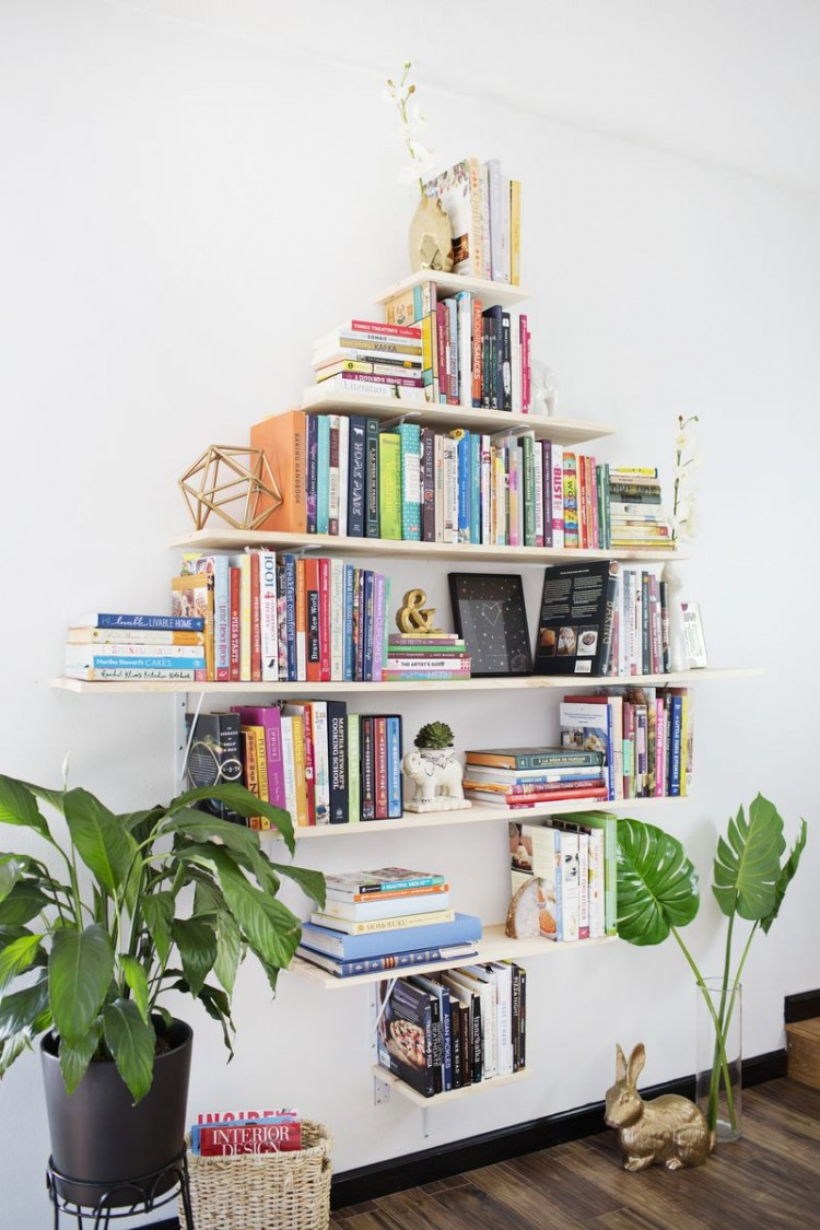 creative bookshelves archives - shelterness