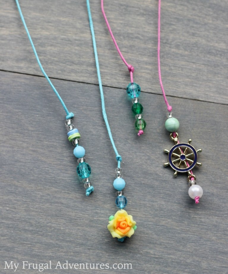 Picture Of diy beaded bookmarks to craft with kids  1