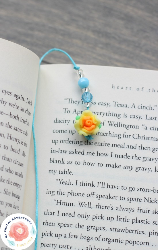 DIY Beaded Bookmarks To Craft With Kids