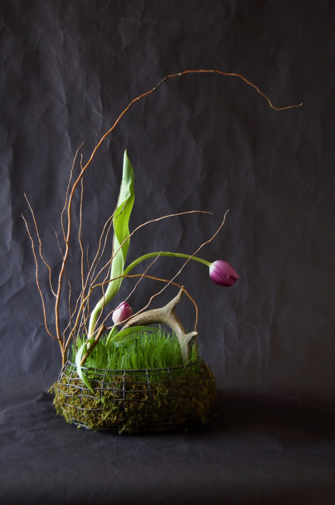 Easter ideas archives shelterness diy easter basket filled with real grass negle Images