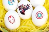 DIY tattoo Easter eggs
