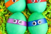 DIY ninja turtle eggs