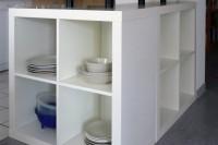 DIY Expedit kitchen island
