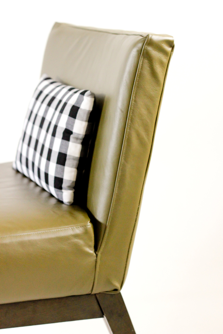 Picture Of diy leather upholstery slipcover for your furniture  2