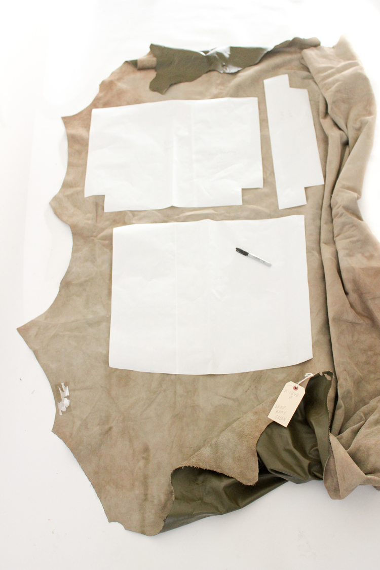 Picture Of diy leather upholstery slipcover for your furniture  5