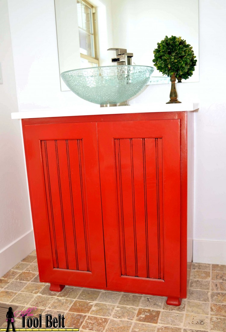Bathroom Vanity Plans Free build your own bathroom vanity plans. cabinet door storage bins