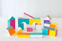 DIY bold building wooden blocks
