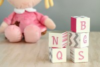 fun DIY alphabet blocks
