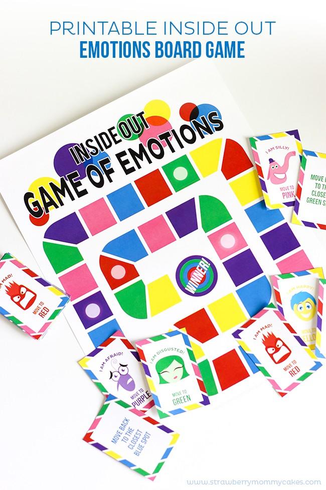 DIY emotions board game (via strawberrymommycakes)