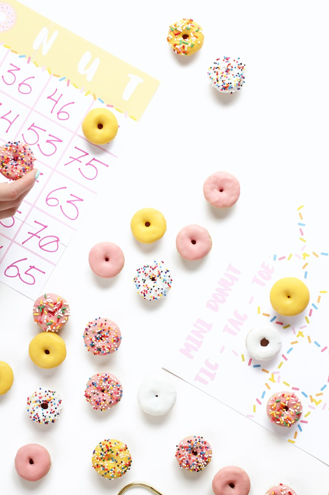 Picture of diy donut game for Fun and easy diys