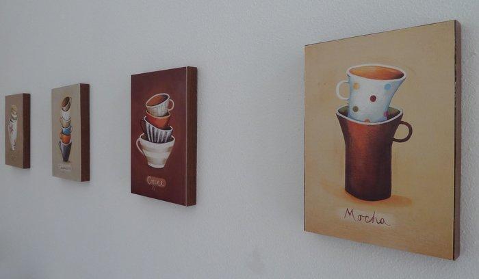 Lovely DIY Kort card artworks via ikeahackers