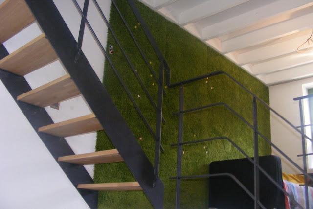 DIY Hampen carpet hack (via ikeahackers)
