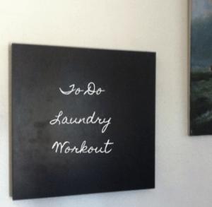 DIY Lack chalkboard (via ikeahackers)