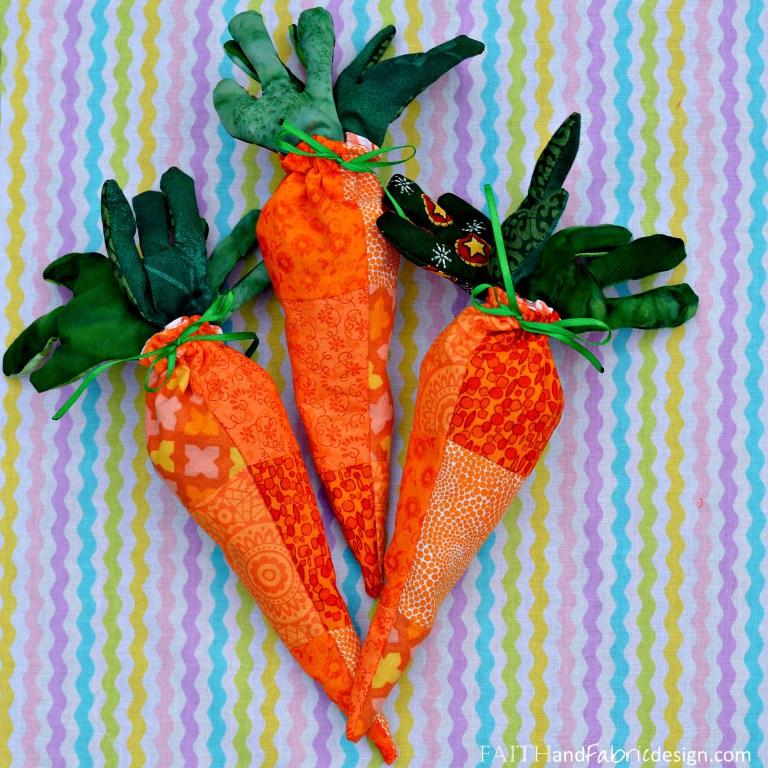 DIY carrot treat bags (via faithandfabricdesign)