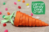 DIY carrot cone