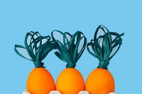 DIY carrot eggs