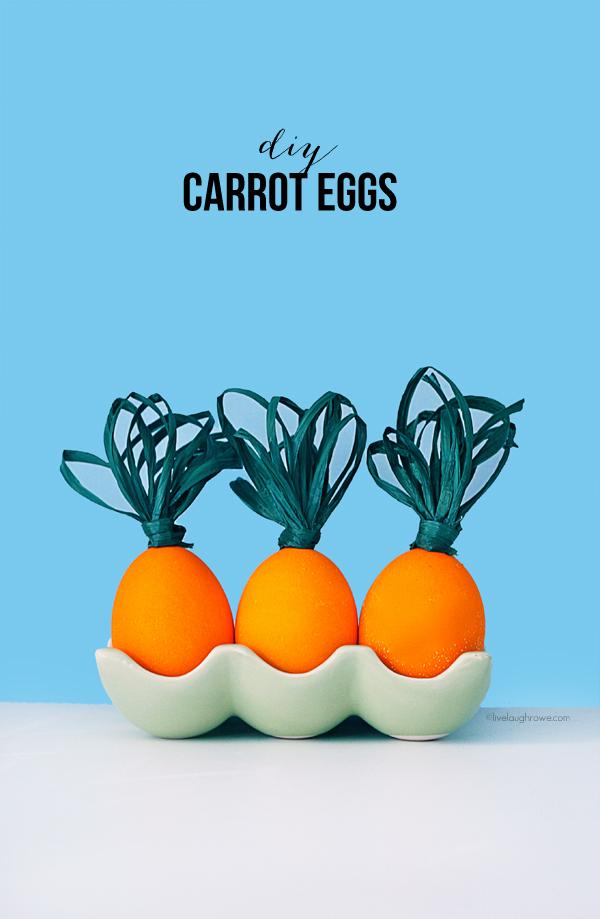 DIY carrot eggs (via livelaughrowe)