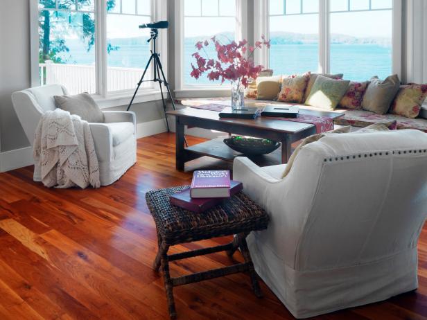 DIY armchair slipcovers (via diynetwork)