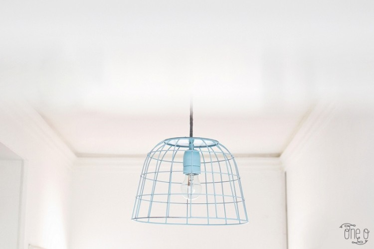 How To Transform A Fruit Bowl Into A Wireframe Pendant Light