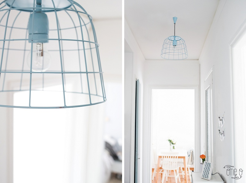 Picture Of how to transform a fruit bowl into a wireframe pendnat light  7