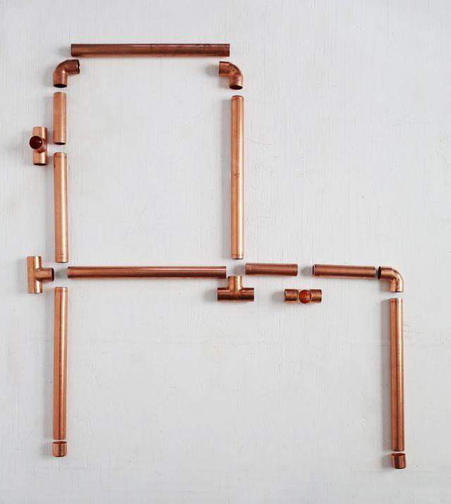 Picture Of stylish diy copper pipe child desk  5