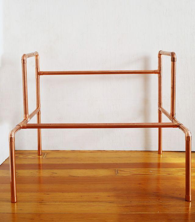 Picture Of stylish diy copper pipe child desk  6