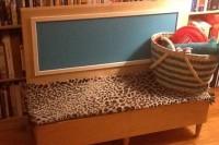 DIY Malm dog bench