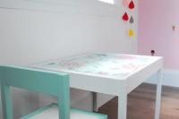 DIY Latt table and chair hack