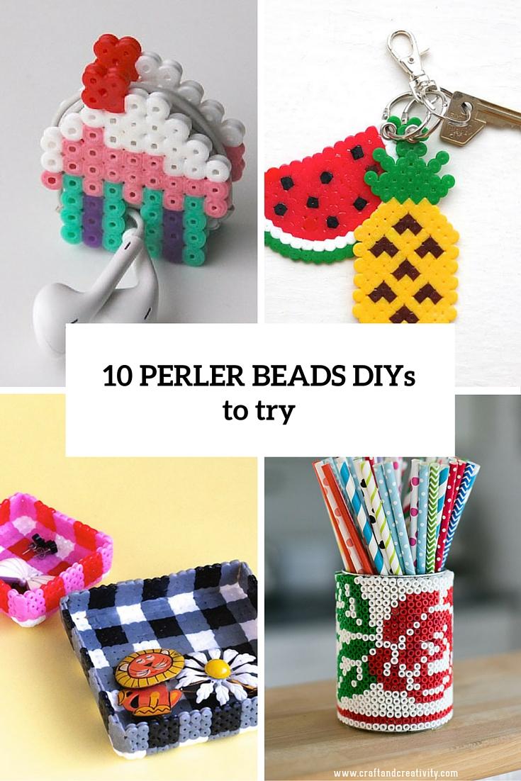 10 perler beads diys to try cover