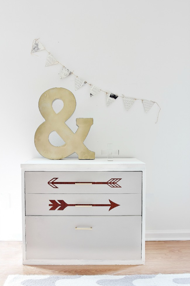 DIY arrow makeover (via thistlewoodfarms)