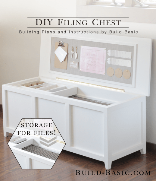 DIY Filing Chest (via Build Basic)