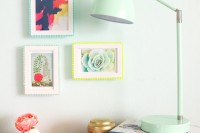 bold-and-cute-diy-pompom-picture-frames-3