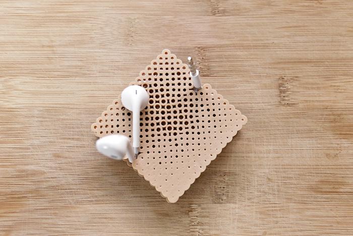DIY earbud holders (via https:)