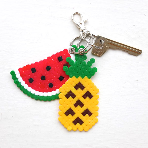 DIY fruit key rings (via mypoppet)
