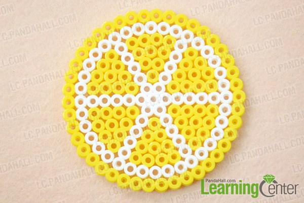 DIY lemon coasters (via lc)