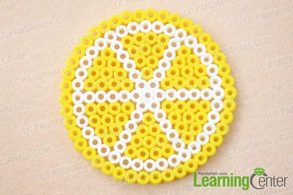 DIY lemon coasters (via lc)