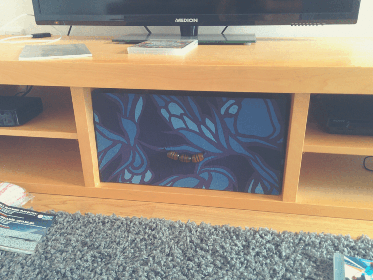 9 cool diy tv stands and consoles to make shelterness