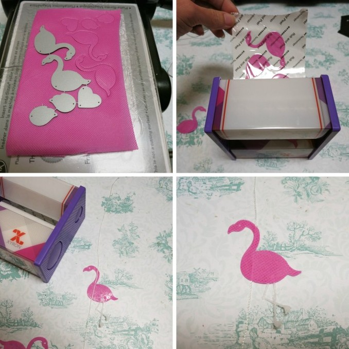 Picture Of cute diy raining flamingos mobile  2