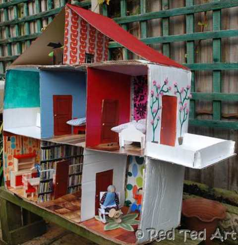 10 Diy Doll And Toy Houses To Excite Your Kids Shelterness