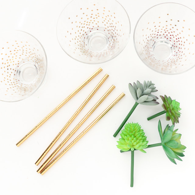 Trendy DIY Mini Succulent Drink Stirrers For Stylish Parties