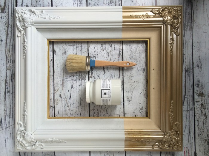 Painted Mirror Frame Ideas Fun