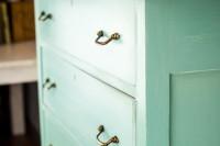 DIY patina dresser