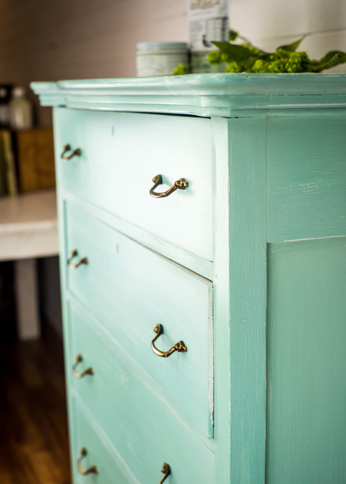 DIY patina dresser (via https:)